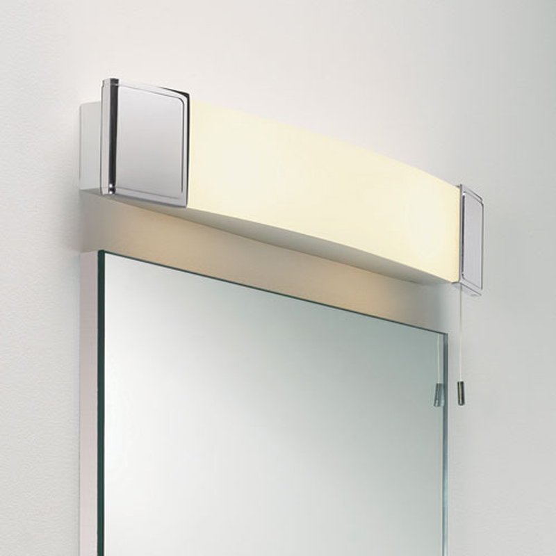 Shaver lights and mirrors from easy lighting astro anja shaver ip20 bathroom wall light polished chrome 0512 aloadofball
