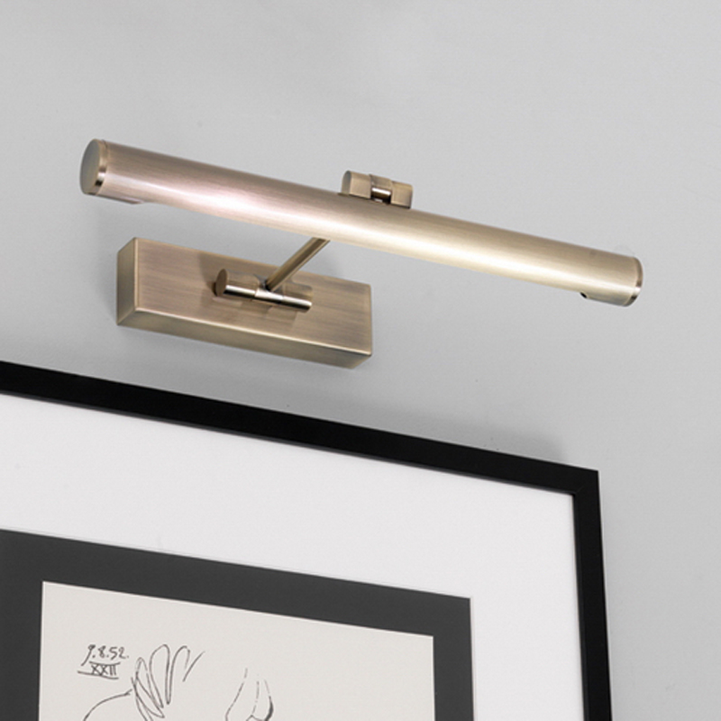 Astro 'Goya 365' IP20 Interior Picture Light, Antique Brass - 0534