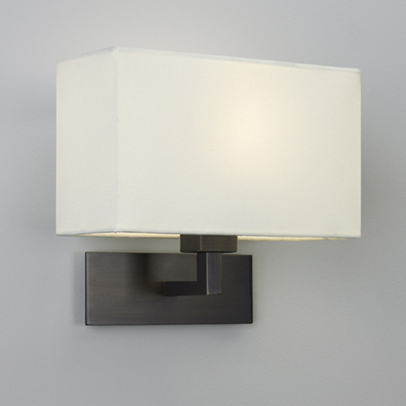 Astro Lighting 0940 San Marino Solo Wall Light In Bronze: Modern Wall Lights From Easy Lighting