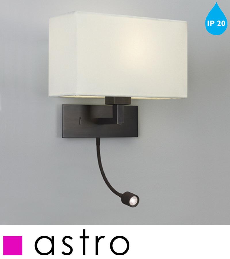 Astro U0027Park Lane Grandeu0027 LED IP20 Interior Wall Light, Bronze   0540 None