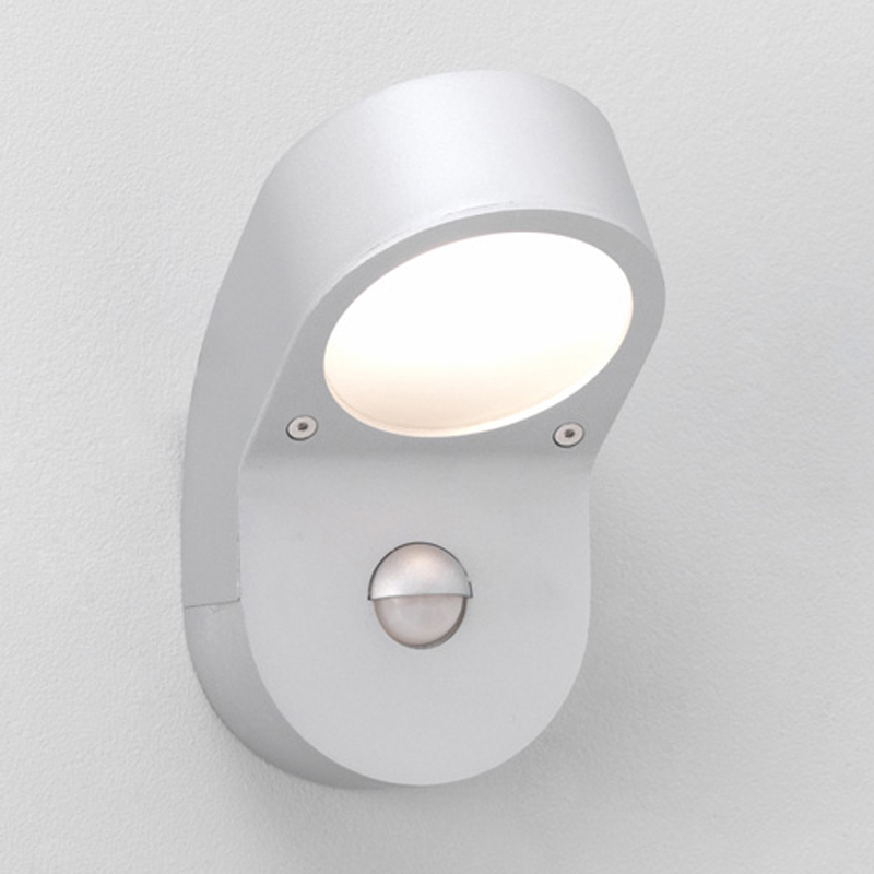 Outdoor security lights from easy lighting astro soprano pir ip44 outdoor wall light painted silver 0576 aloadofball Images