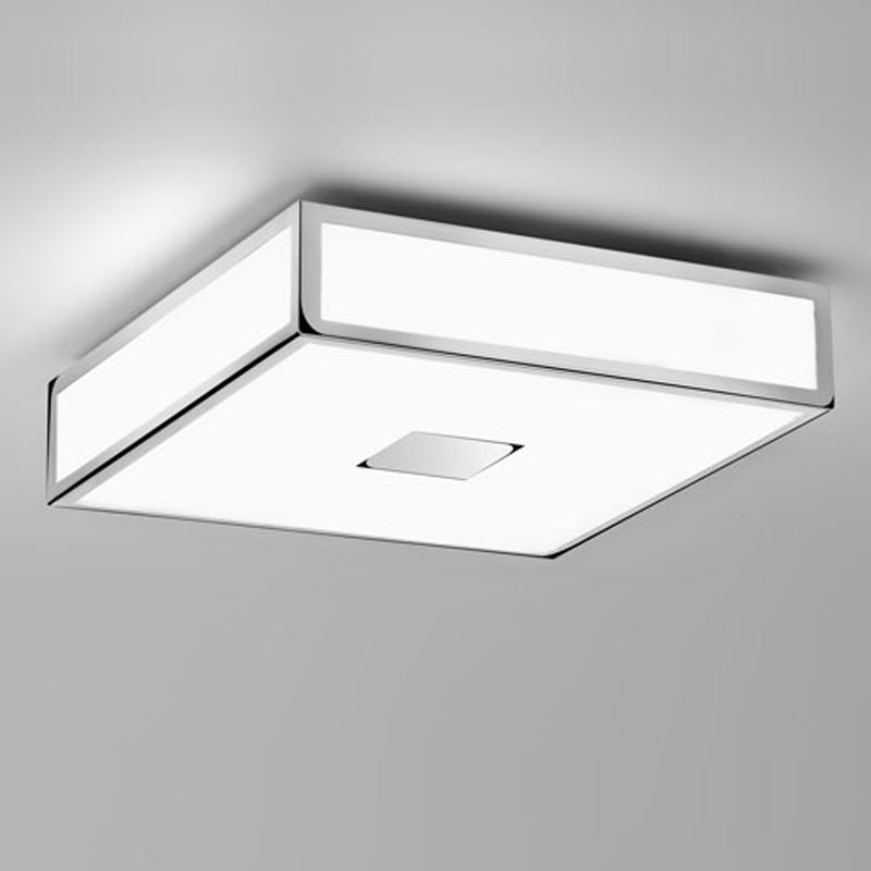 square flush bathroom ceiling lights from easy lighting. Black Bedroom Furniture Sets. Home Design Ideas