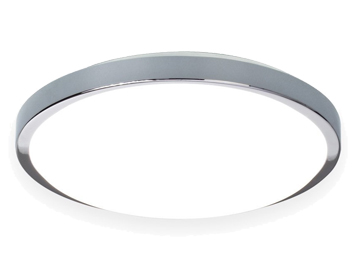 Astro Denia Bathroom Flush Ceiling/Wall Light, Polished Chrome Finish - 0587