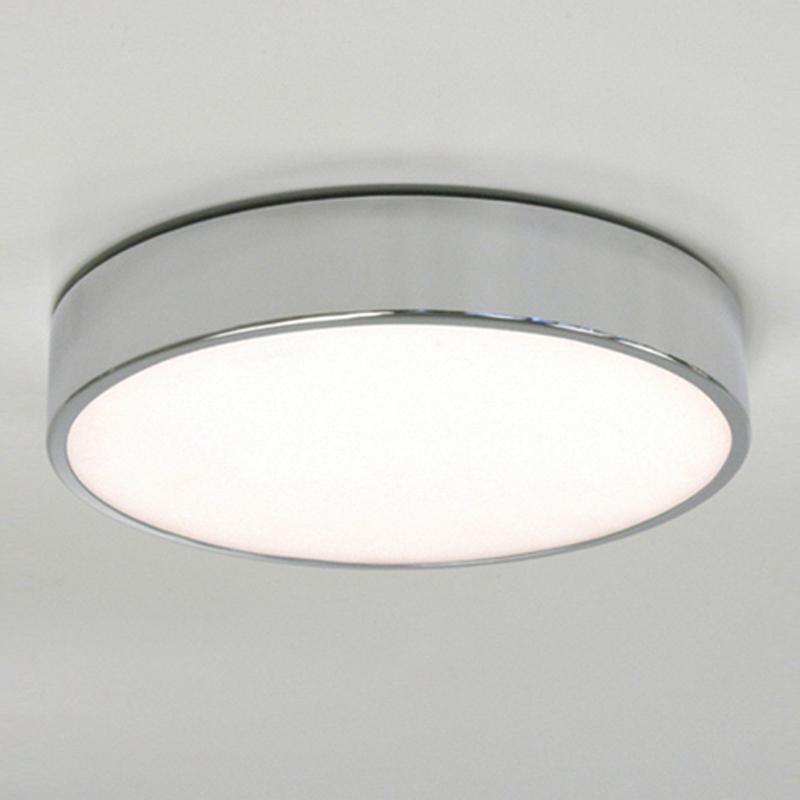 Astro Mallon Plus Ip44 Bathroom Flush Ceiling Light Polished Chrome 0591