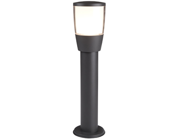 Outdoor pedestal lights from easy lighting searchlight tucson 1 light outdoor led pedestal light dark grey finish 0598 450gy aloadofball Choice Image