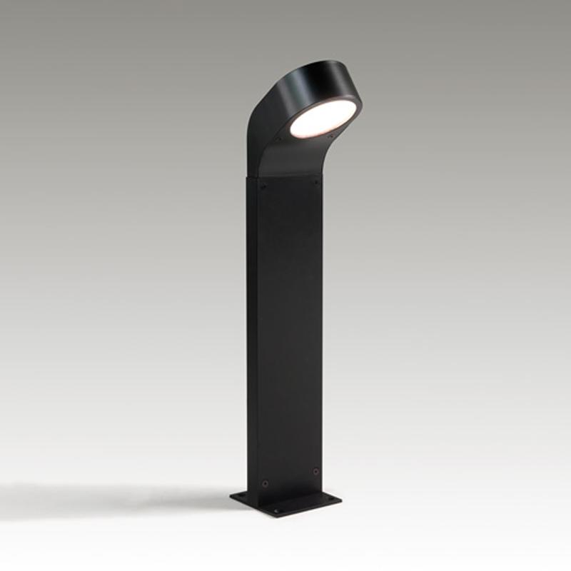Quoizel Bedford Outdoor Pedestal Light Mystic Black: Black Outdoor Pedestal Lights From Easy Lighting