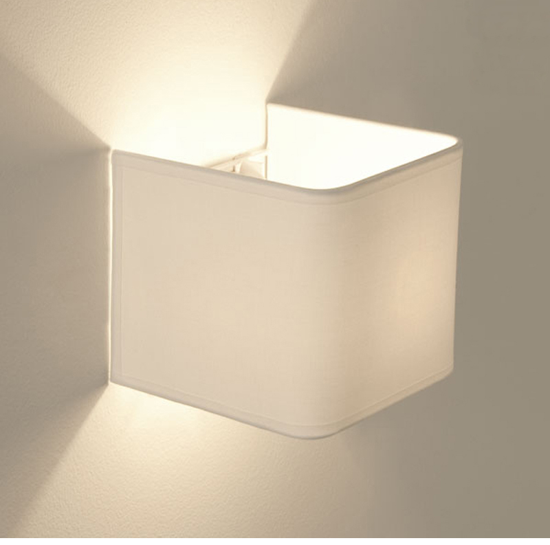 Switched Wall Light White : Astro Ashino IP20 Interior Switched Wall Light, White Finish - 0766 from Easy Lighting