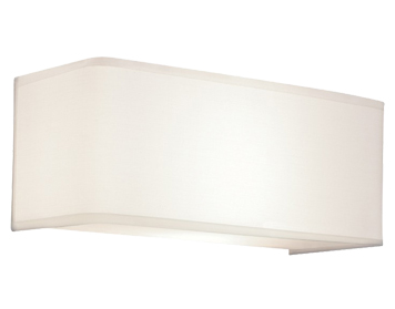 Astro Ashino Wide Interior Wall Light, White Finish - 0767