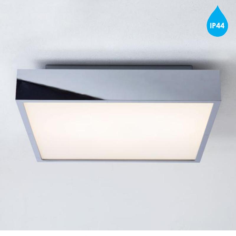 astro taketa ip44 led bathroom ceiling light polished chrome 7159 - Led Bathroom Ceiling Lights