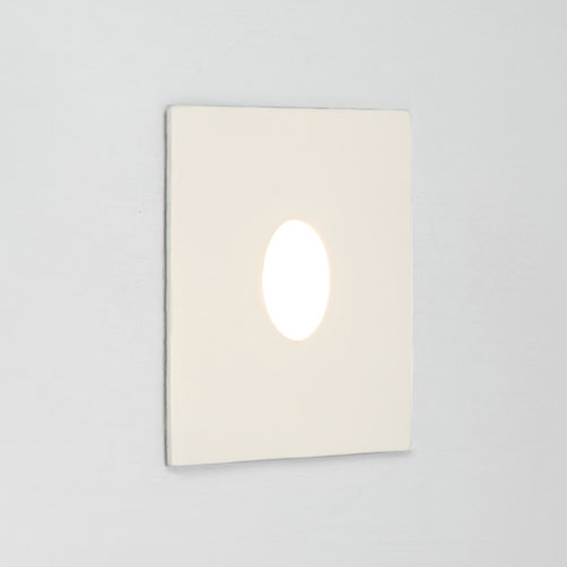 Astro Tango 2700k Square LED Wall Light, White Finish - 7522