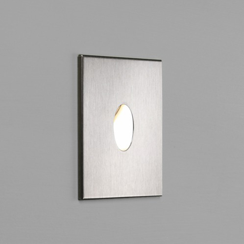 Astro Tango 2700K Square LED Wall Light, Stainless Steel - AST 7523