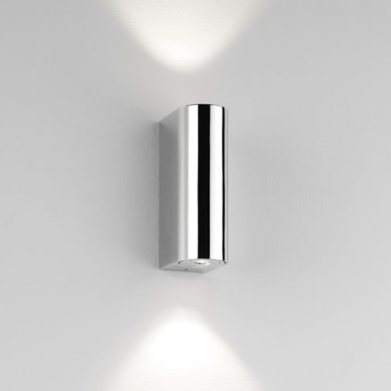 bathroom down lighting astro bloc ip44 led bathroom up amp wall light 10544
