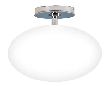 Astro Zeppo Bathroom Ceiling Light, Polished Chrome Finish - 0830