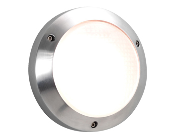 Astro Toronto 170 Exterior Wall Light, Polished Aluminium Finish - 0844