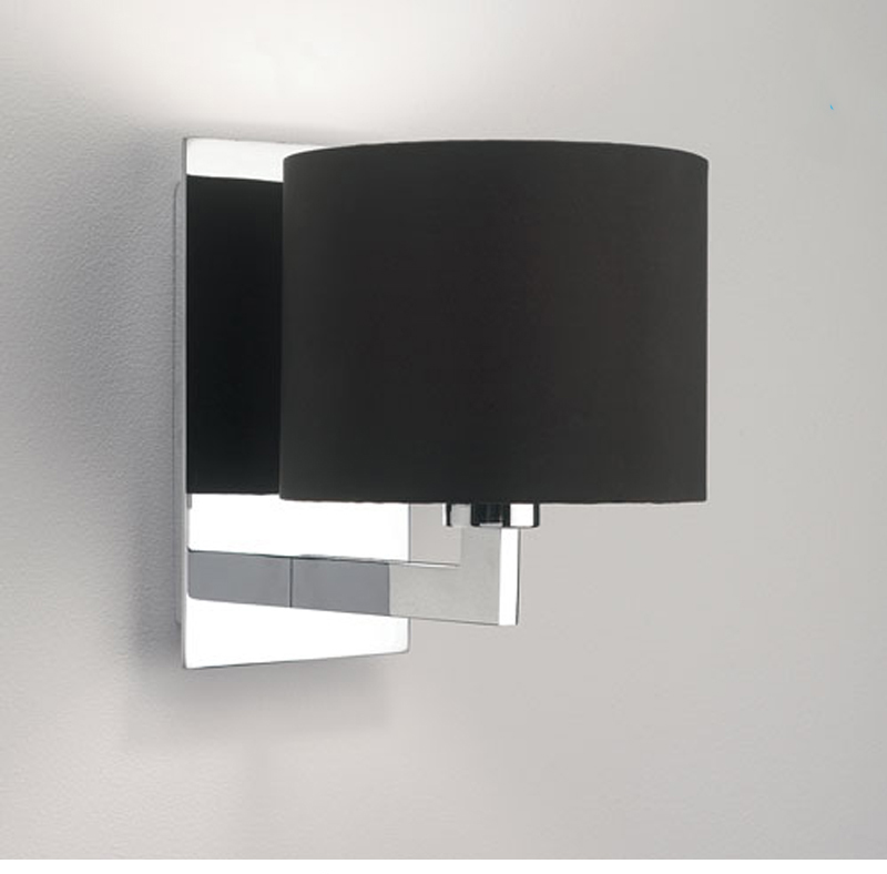 Brushed Chrome Indoor Wall Lights : Astro Olan IP20 Interior Wall Light, Polished Chrome - 0860 from Easy Lighting