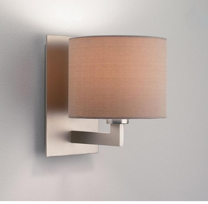 Astro Olan IP20 Interior Wall Light, Matt Nickel - 0861 from Easy Lighting