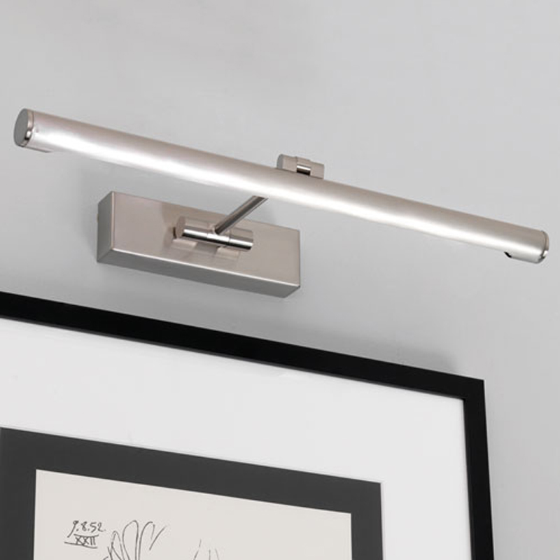 Astro 'Goya LED 460' IP20 Interior Picture Light, Brushed Nickel - 0873