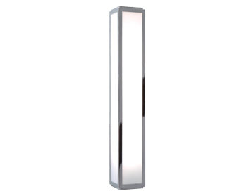 Astro Mashiko 600 Bathroom Wall Light, Polished Chrome Finish - 0878