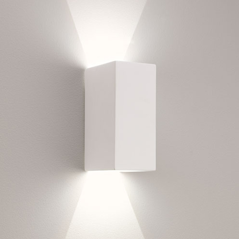 Astro Parma 160 LED 2700k Wall Light, White Finish - 7598