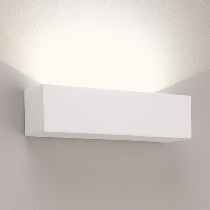 Astro 'Parma 250' LED IP20 3000k Wall Light, White Finish - 0887