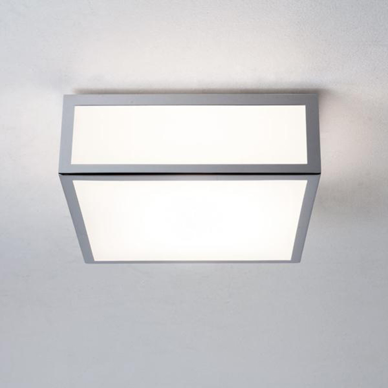 Bathroom Ceiling Lights Crystal Square : Square flush bathroom ceiling lights from easy lighting