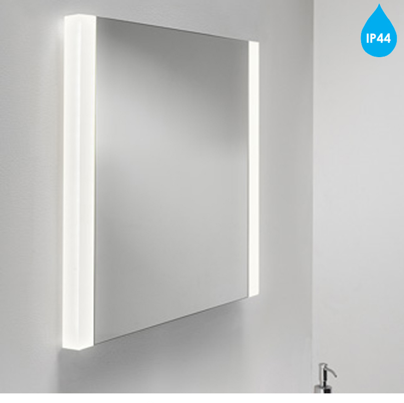 Heated Bathroom Mirrors With Lights: Astro 'Calabria' IP44 Illuminated Bathroom Mirror & Heated