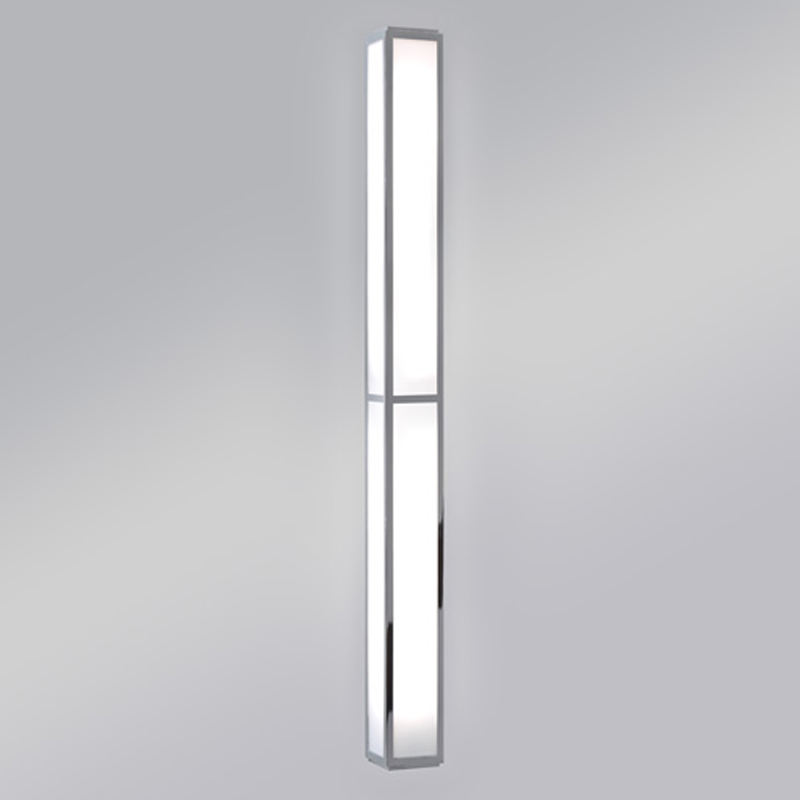 Astro Mashiko 900 Bathroom Wall Light, Polished Chrome - 0911