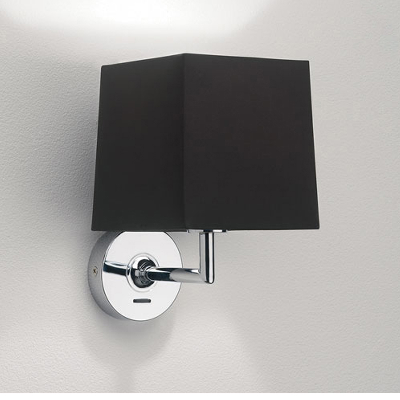 Brushed Chrome Indoor Wall Lights : Astro Appa Solo IP20 Interior Wall Light, Polished Chrome - 0918 from Easy Lighting