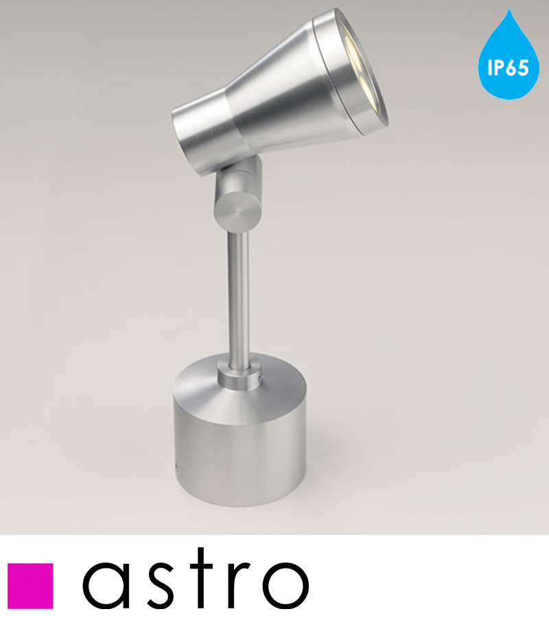 Astro Jardino IP65 LED Outdoor SpikeWall Light Brushed