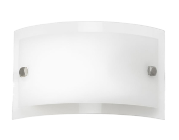 Endon Phelps 1 Light Switched Wall Bracket, Chrome Plate Finish With Clear & Frosted Glass - 095-20