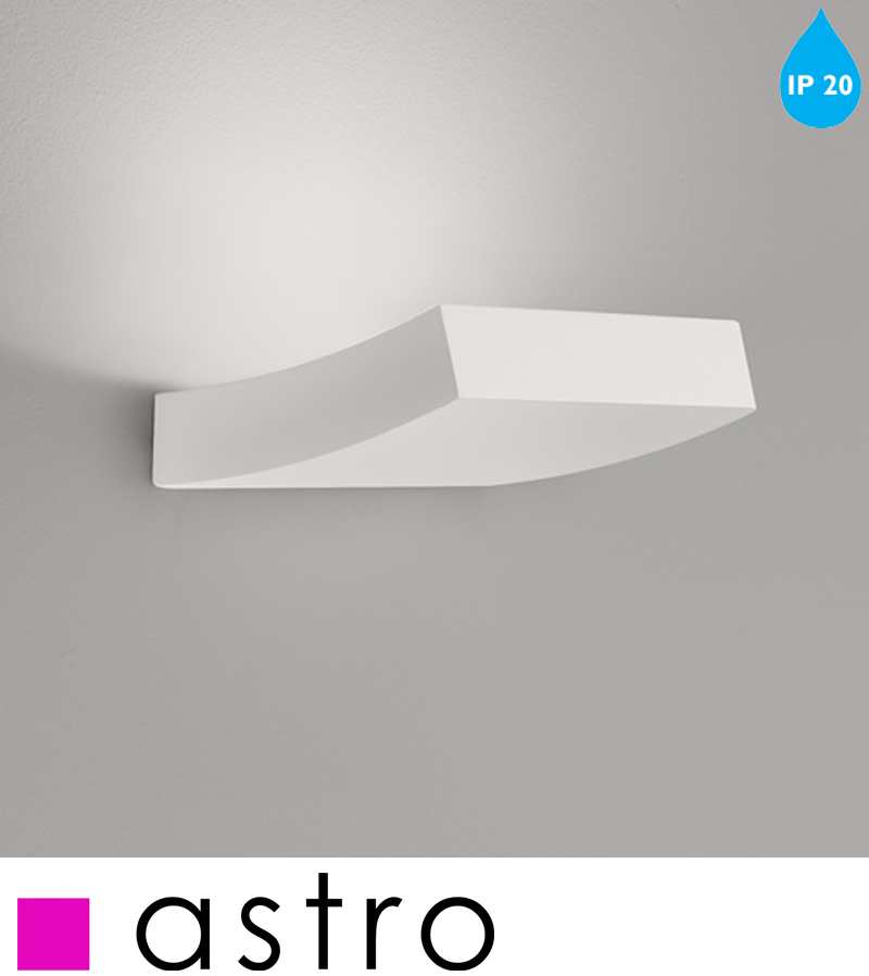Astro Naxos Led Wall Light, White Finish - 0953 None