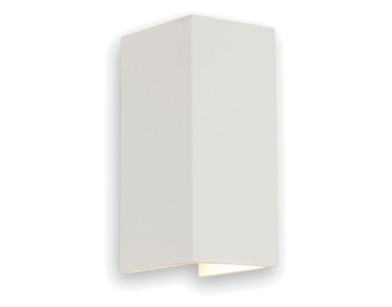 Astro Parma 210 Wall Light, White Plaster Finish - 0964