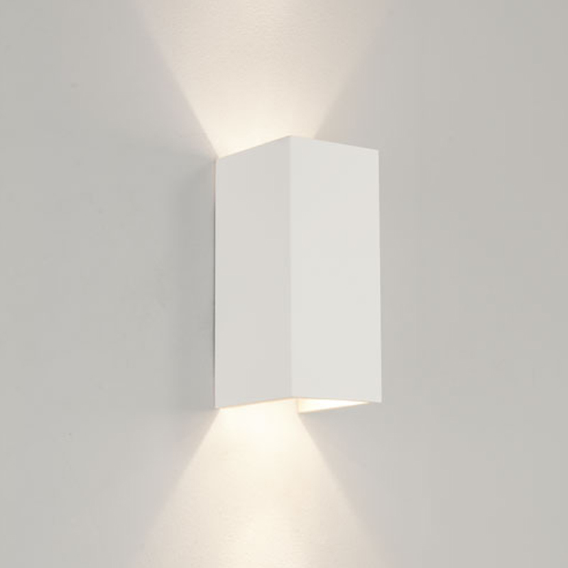 Up and down wall lights from easy lighting astro parma 210 ip20 wall light white finish 0964 aloadofball Gallery