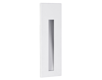 Astro Borgo 55 LED Recessed Wall Light, Matt White Finish - 0970