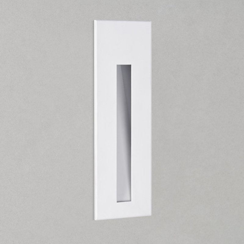 Astro Borgo 55 LED 2700K Recessed Wall Light, White Finish - 7527