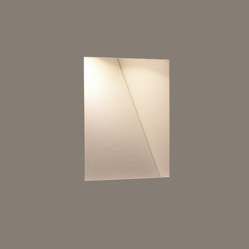 Astro Recessed Wall Lights : Astro Borgo Trimless Mini LED IP20 3000k Recessed Wall Light, White Finish - 7625 from Easy ...