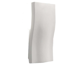 Astro S-Light Wall Light, White Plaster Finish - 0978