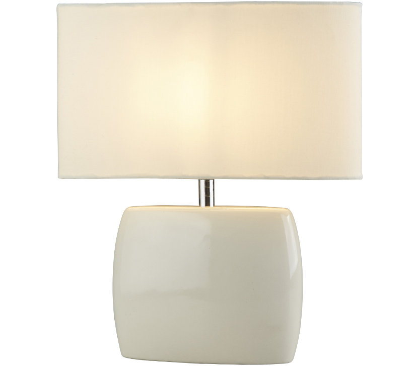 92 Cream Ceramic Lamp Cream Ceramic Table Lamp