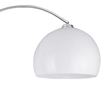 searchlight arc floor lamp polished chrome 1037cc