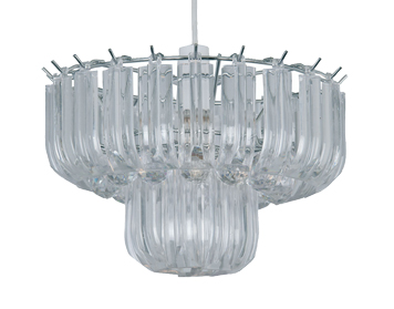Oaks Lighting Acrylic Non-Electric Ceiling Pendant, Clear Acrylic Finish - 103 NE