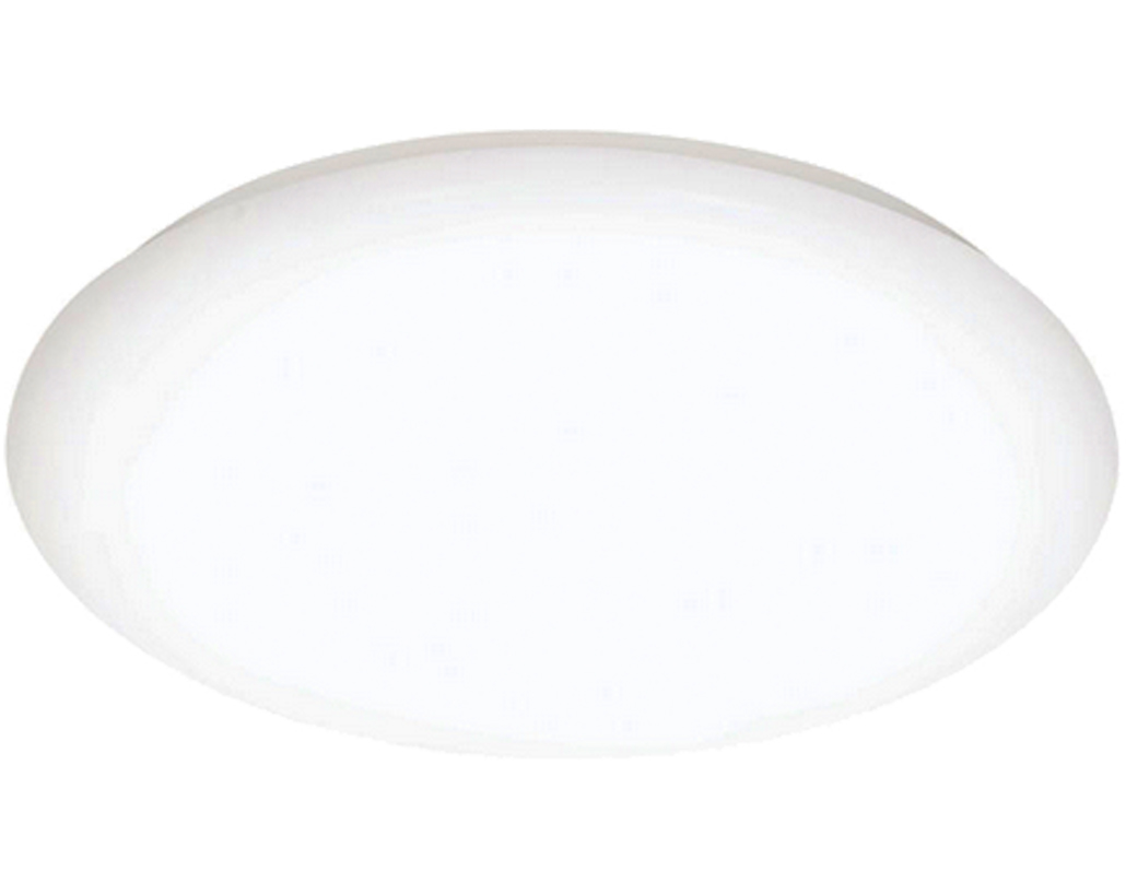Oaks Lighting Lapua LED Flush Ceiling Light, White - 1041/18