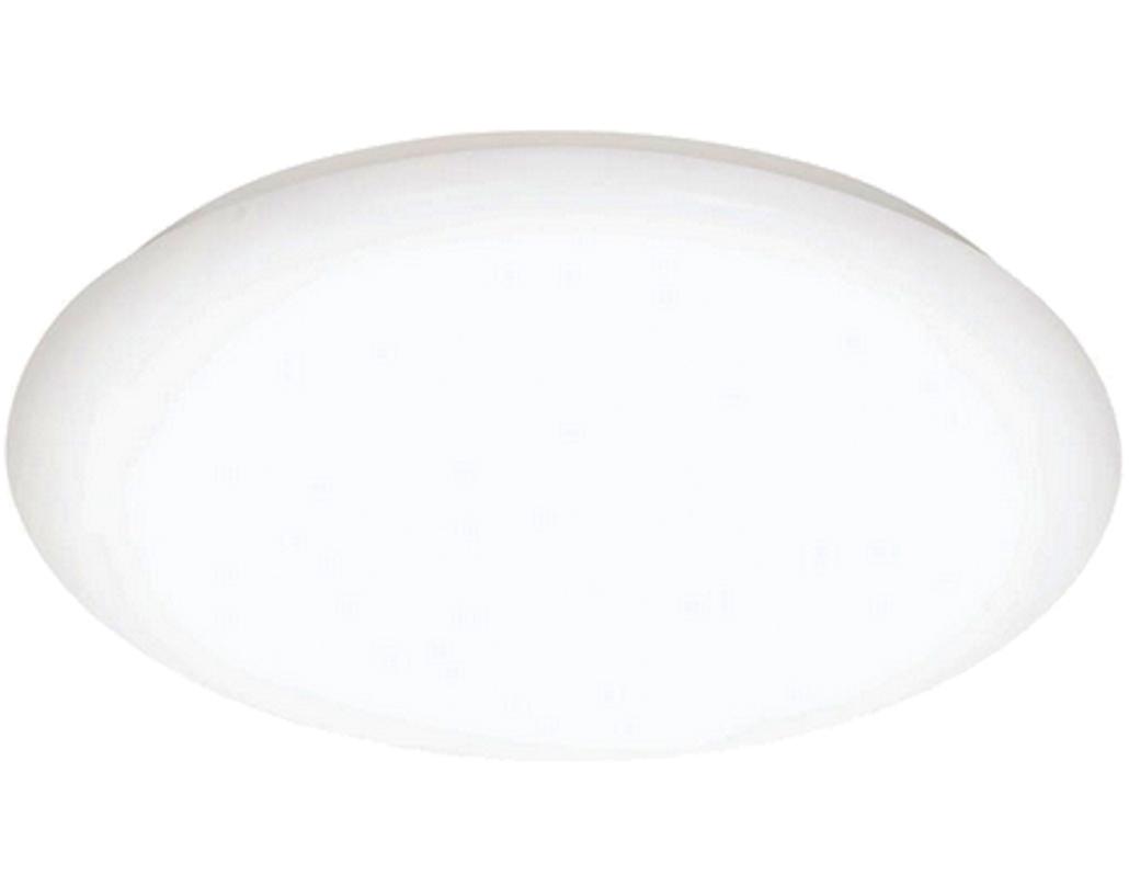 Flush ceiling lights white : Oaks lighting lapua led flush ceiling light white