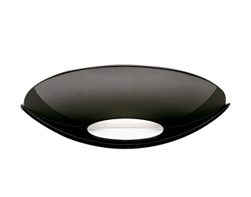 Searchlight Halogen Wall Light, Black Chrome - 1107BC