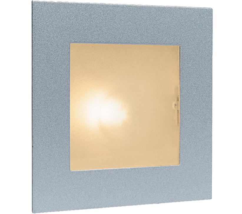 Firstlight Indoor Wall & Step Light, Satin Steel With
