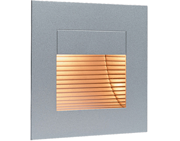 Firstlight Indoor Wall & Step Light, Satin Steel Cover - 1132SS