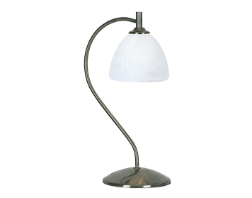 Oaks Lighting Hamburg Table Lamp, Antique Chrome Finish - 1178 TL AC