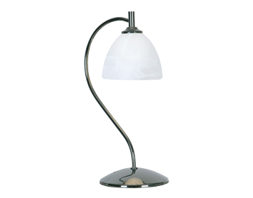 Oaks Lighting Hamburg Table Lamp, Chrome Finish - 1178 TL CH