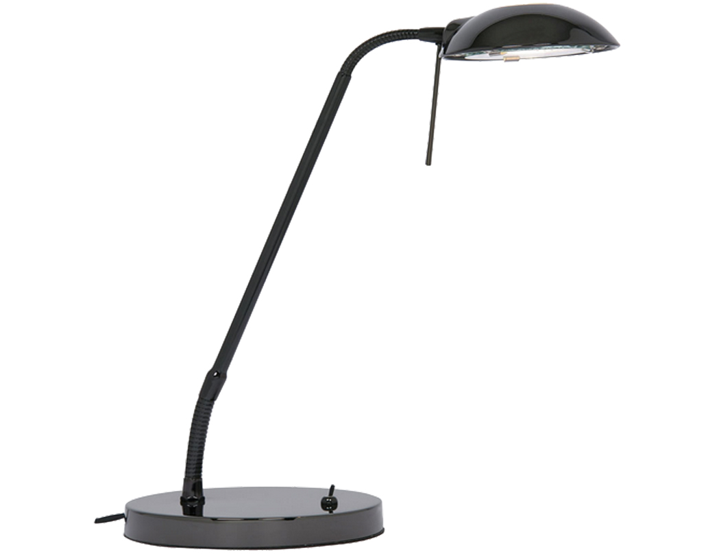 Oaks Lighting Metis Table Lamp, Black Chrome - 1249 TL BC