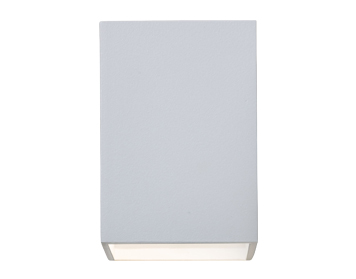 Astro Oslo 100 Wall Light, Textured White Finish - 1298005