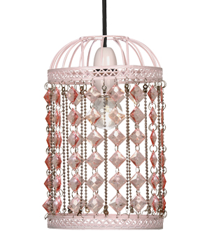 Oaks Lighting 'Flimby' Non-Electric Ceiling Pendant, Pink - 133 PI